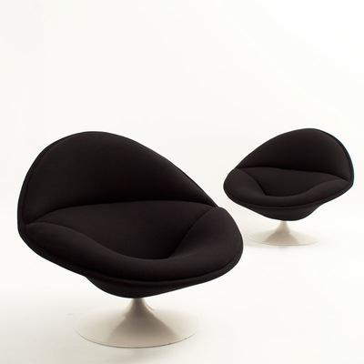 Perlapatrame - meubles - objets - vintage - fauteuil pierre paulin f 553 artifort