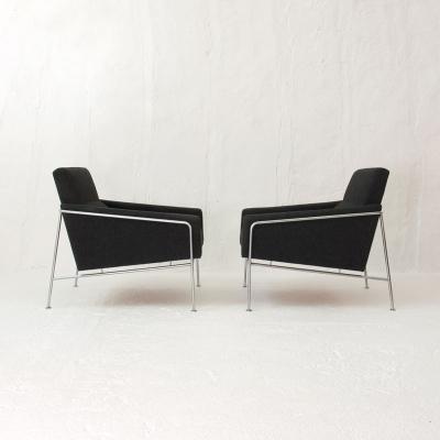 Perlapatrame - meubles - objets - vintage - FAUTEUILS 3300 ARNE JACOBSEN
