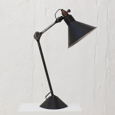 Perlapatrame - meubles - objets - vintage - LAMPE B. A. GRAS 1930s