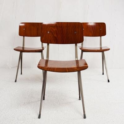 Perlapatrame - meubles - objets - vintage - 3 CHAISES RESULT FRISO KRAMER