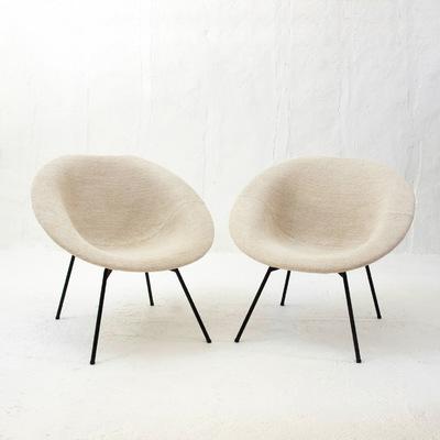 Perlapatrame - meubles - objets - vintage - fauteuil claude vassal les magasins pilotes 1950 RECONSTRUCTION vintage design 20eme #claudevassal