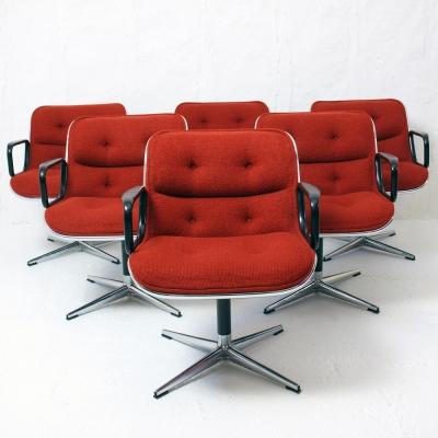 Perlapatrame - meubles - objets - vintage - 6 FAUTEUILS POLLOCK
