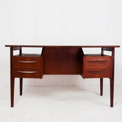 Perlapatrame - meubles - objets - vintage - BUREAU TIBERGAARD 60s