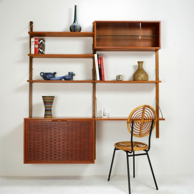 Perlapatrame - meubles - objets - vintage - BBILIOTHEQUEBUREAU CADOVIUS