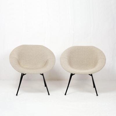 Perlapatrame - meubles - objets - vintage - FAUTEUILS CLAUDE VASSAL