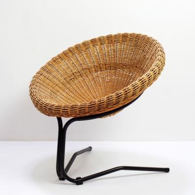 Perlapatrame - meubles - objets - vintage - FAUTEUIL BUENO DE MESQUITA