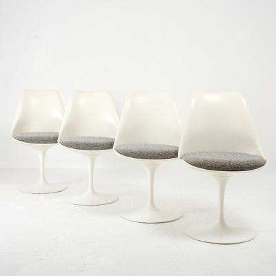 Perlapatrame - meubles - objets - vintage - 4 CHAISES SAARINEN KNOLL
