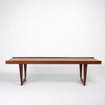 Perlapatrame - meubles - objets - vintage - TABLE BASSE PETER LOVIG NIELSEN