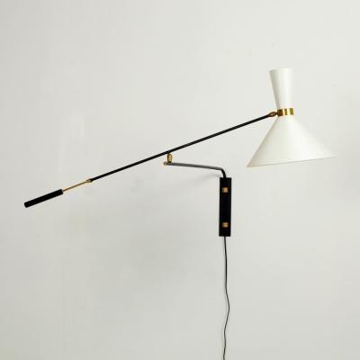 Perlapatrame - meubles - objets - vintage - APPLIQUE A CONTRE-POIDS 50s