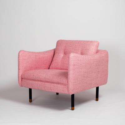 Perlapatrame - meubles - objets - vintage - FAUTEUIL TECKEL MICHEL MORTIER