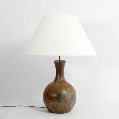 Perlapatrame - meubles - objets - vintage - LAMPE LA GRANGE AUX POTIERS