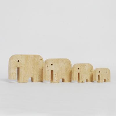 Perlapatrame - meubles - objets - vintage - 4 ELEPHANTS FRATELLI MANNELLI