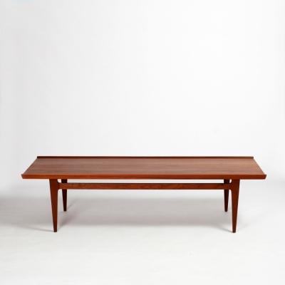 Perlapatrame - meubles - objets - vintage - TABLE BASSE FINN JUHL