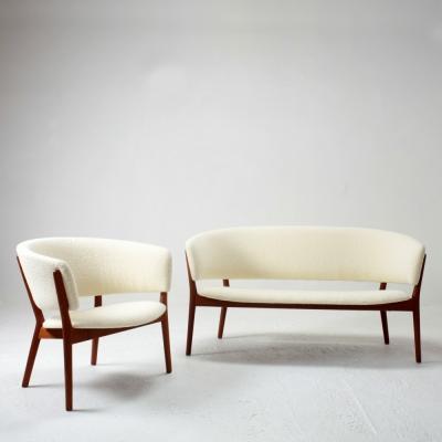Perlapatrame - meubles - objets - vintage - SOFA &FAUTEUIL NANNA DITZEL