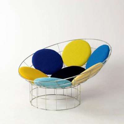 Perlapatrame - meubles - objets - vintage - PEACOCK VERNER PANTON