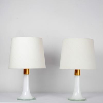 Perlapatrame - meubles - objets - vintage - PAIRE DE LAMPES FINLANDE 60s