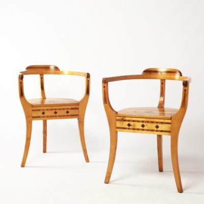 Perlapatrame - meubles - objets - vintage - FAUTEUILS SUEDE 1942