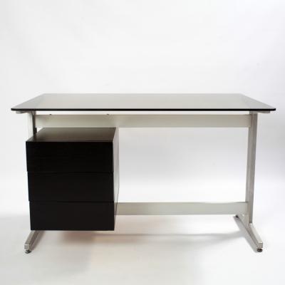 Perlapatrame - meubles - objets - vintage - BUREAU ETIENNE FERMIGIER 70s