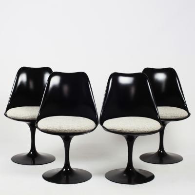 Perlapatrame - meubles - objets - vintage - 4 CHAISES TULIPE SAARINEN