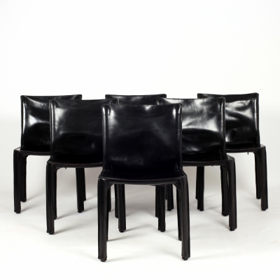 Perlapatrame - meubles - objets - vintage - 6 CAB MARIO BELLINI CASSINA