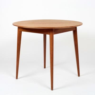 Perlapatrame - meubles - objets - vintage - TABLE CHENE 1950s