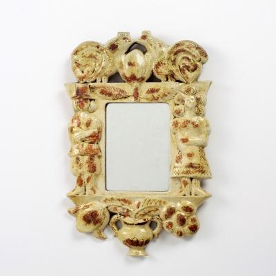 Perlapatrame - meubles - objets - vintage - MIROIR ROGER CAPRON
