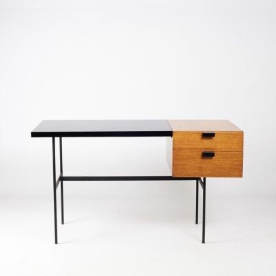 Perlapatrame - meubles - objets - vintage - BUREAU CM 141 PAULIN THONET