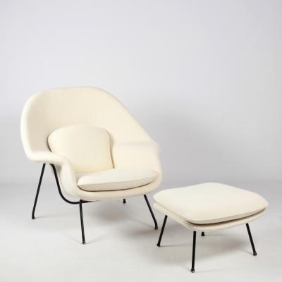 Perlapatrame - meubles - objets - vintage - WOMB EERO SAARINEN KNOLL