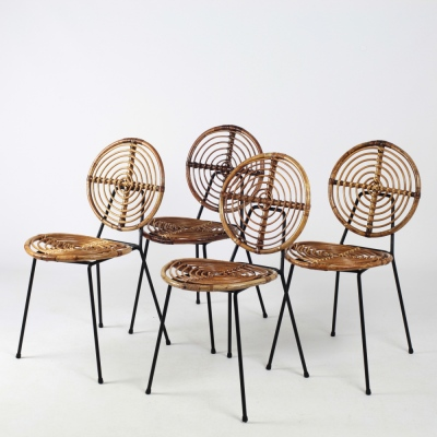 Perlapatrame - meubles - objets - vintage - CHAISES THONET CM166