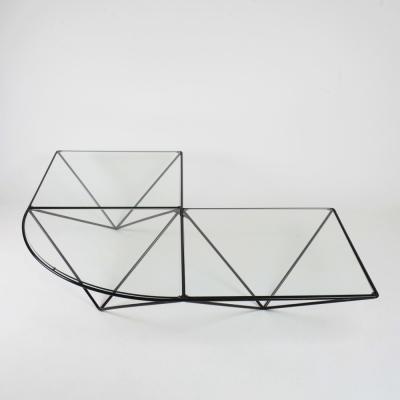 Perlapatrame - meubles - objets - vintage - TABLE BASSE 80s