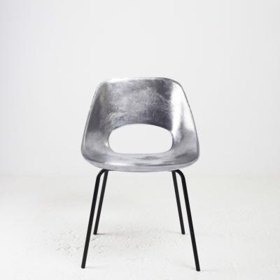 Perlapatrame - meubles - objets - vintage - CHAISE TULIP GUARICHE