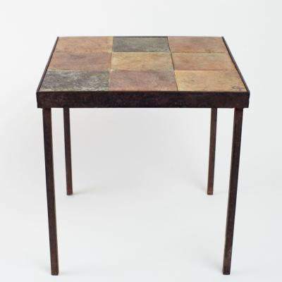 Perlapatrame - meubles - objets - vintage - TABLE LA GRANGE AUX POTIERS