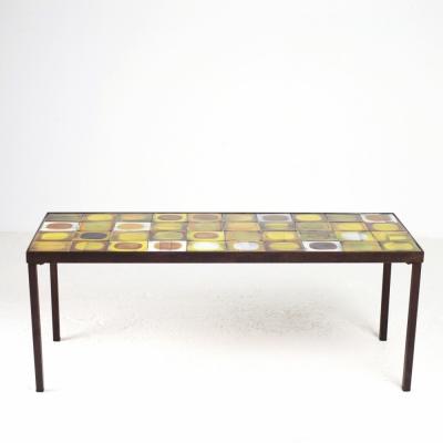 Perlapatrame - meubles - objets - vintage - TABLE BASSE CAPRON
