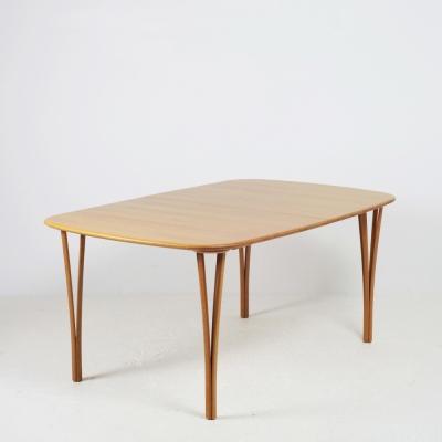 Perlapatrame - meubles - objets - vintage - TABLE A MANGER DANEMARK