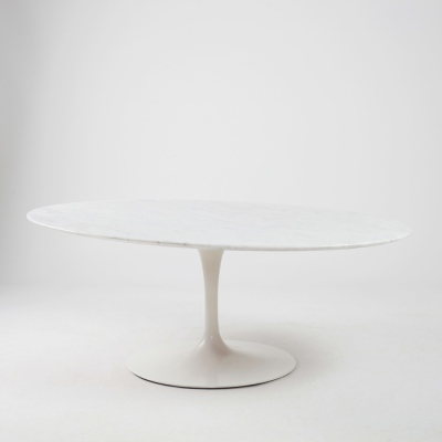 Perlapatrame - meubles - objets - vintage - TABLE BASSE SAARINEN KNOLL