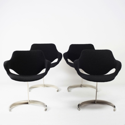 Perlapatrame - meubles - objets - vintage - CHAISES BORIS TABACOFF