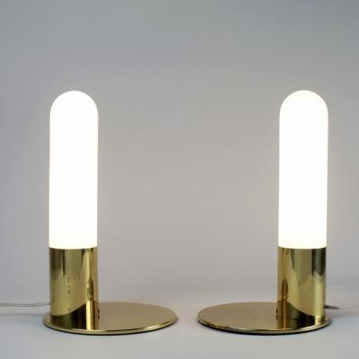 Perlapatrame - meubles - objets - vintage - LAMPES GLASHUTTE LIMBURG