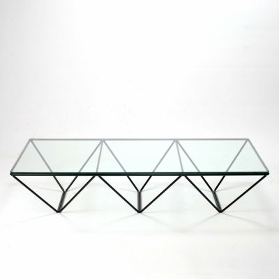 Perlapatrame - meubles - objets - vintage - TABLE BASSE PAOLO PIVA
