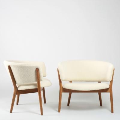 Perlapatrame - meubles - objets - vintage - FAUTEUILS NANNA DITZEL