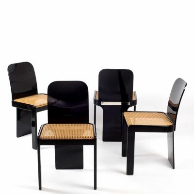 Perlapatrame - meubles - objets - vintage - CHAISES ITALIE 1970