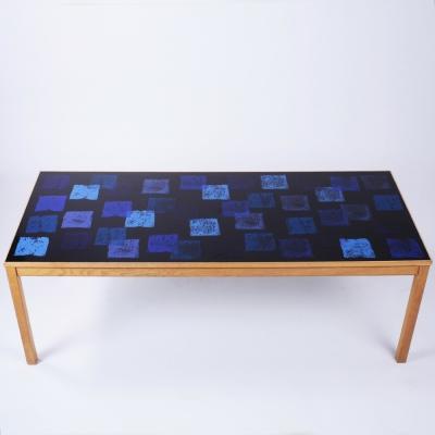 Perlapatrame - meubles - objets - vintage - TABLE BASSE SUEDE 1960