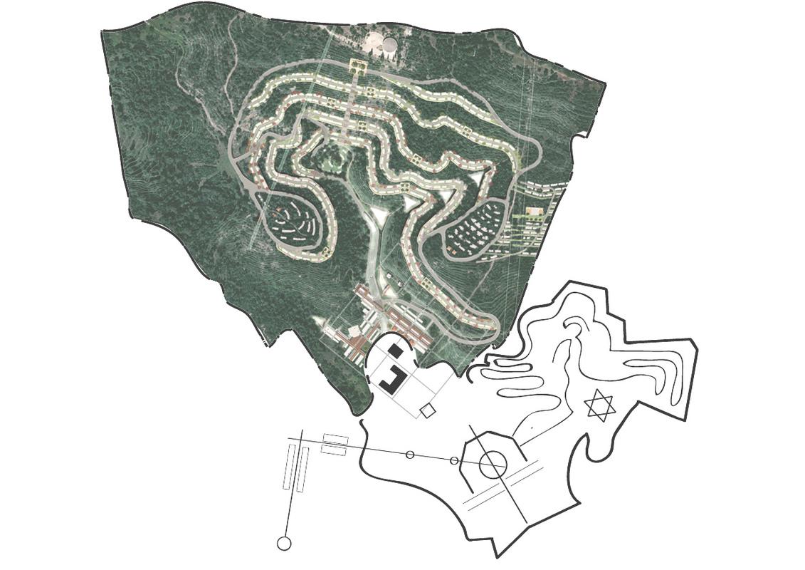 Architecte Marseille - Agence Elbaz Architecture à Marseille (13007) - Plan masse