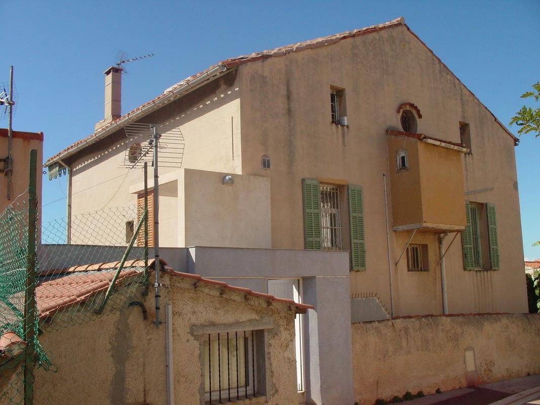 Architecte Marseille - Agence Elbaz Architecture à Marseille (13007) - Le projet était donc de requalifier cette maison à la fois simple et pataude.