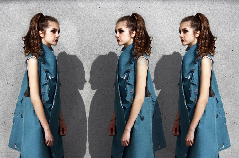 Laura Searle - Model Berta Selma Pants Sandra Miralles Vest & Photography Laura Searle