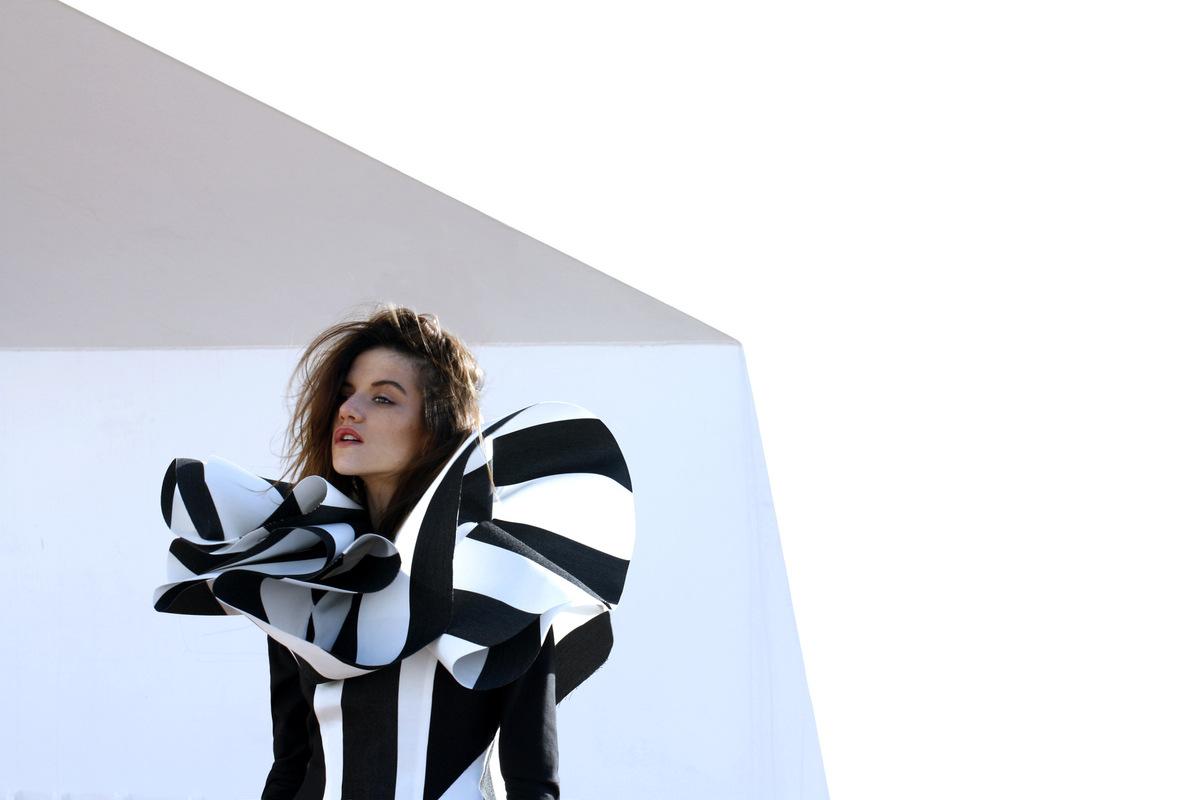 Laura Searle - Model Clara R. Johnson / Photo & Design Laura