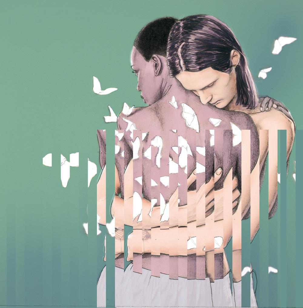Laura Searle - Pencil Drawing & Digital Color. Based on Ryan Mginleys Photography
