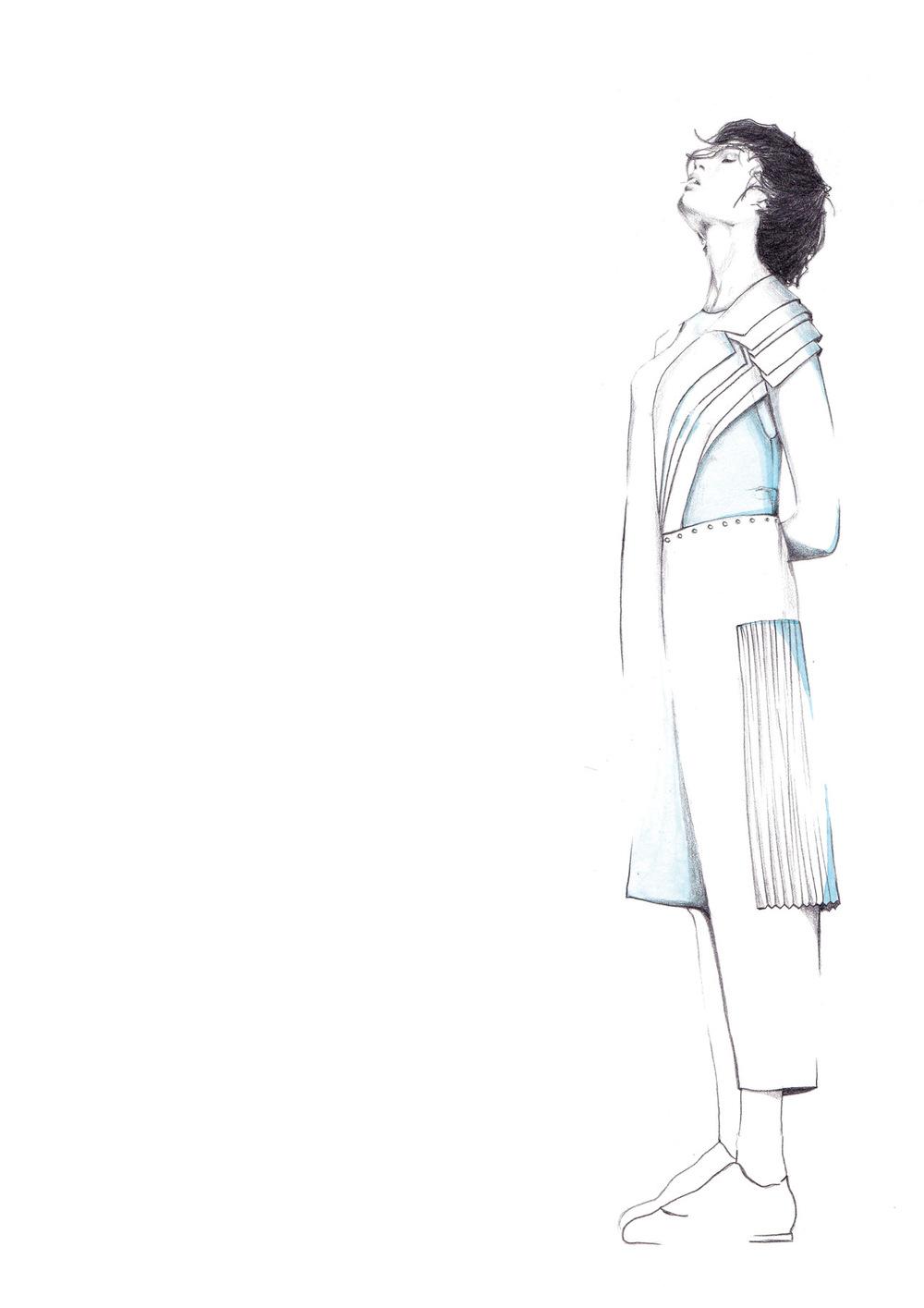 Laura Searle - Pencil & Watercolor.