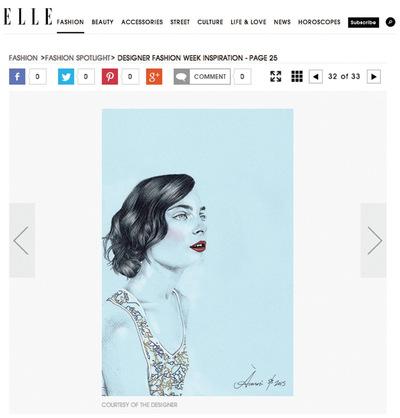 Laura Searle - Elle.com 2014
