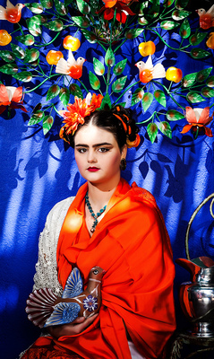 By Xavier Photography Portfolio - Frida Kahlo