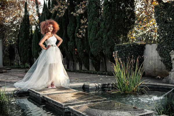 By Xavier Photography Portfolio - I do By Kate Wedding Dress at Villa DEste